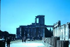 Italy- 1954 (179)-Interior- Pompeii (foundslides) Tags: italy italia europe europa 1953 1950s irmalouisecarter foundslides kodak kodachrome slide slides photos photo pictures pics pix retro vintage tourist tourists 50s analog slidecollection irmarudd
