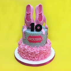 Ballet Ruffle Themed Cake (patchias) Tags: ballet cakes shoes cakeshop johorbahru cakestore cakehouse customcakes kidscake 3dcakes johorjaya klangcakehouse