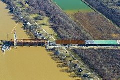 February 2016 (Ohio River Bridges: East End Crossing) Tags: bridge ohio project river crossing bridges indiana tunnel aerial east end louisville innovations louisvillesouthern