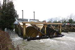 Archimedes Screw 1 (tonycrake) Tags: riverthames windsorcastle hydroelectric renewableenergy archimedesscrew powergenerators romneylock