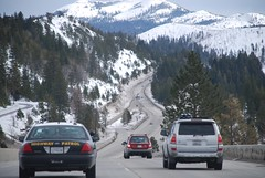 En camino al Lago Tahoe, CA