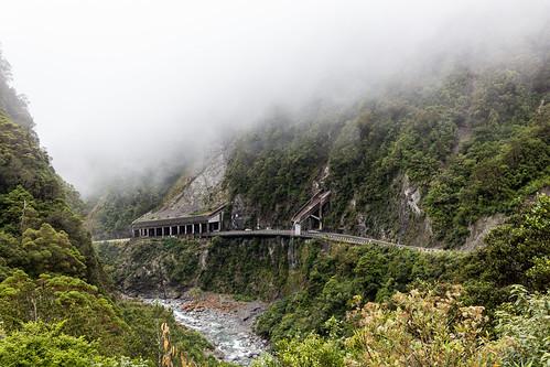 Road at Arthur's Pass