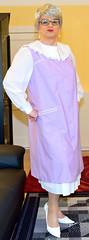 Ingrid021353 (ingrid_bach61) Tags: skirt blouse mature overall bluse pleated kittel faltenrock