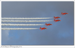 Five Red Arrows (Paul Simpson Photography) Tags: aircraft airplanes fast bluesky lincolnshire planes redarrows raf aeroplanes aerobatic formationflying photosof scampton photoof rafscampton sonya77 paulsimpsonphotography february2016