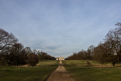 Belton House (Simon Clare Photography) Tags: uk trees england house colour english beauty lines digital landscape photography woods nikon europe shadows unitedkingdom britain path walk perspective historic explore british distance belton grantham englishness d7200
