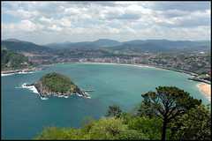 SAN SEBASTIAN (Espagne) (baffalie) Tags: mer mar spain spanish pays basque atlantique saintsebastien