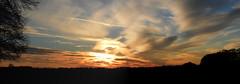 Zonsondergang Limburgs heuvelland  --HDR-- (Frank Berbers) Tags: sunset sky panorama clouds landscape zonsondergang sonnenuntergang wolken nuages paysage landschaft hdr highdynamicrange landschap coucherdusoleil zuidlimburg leciel panoramicphotography panoramabild limburgslandschap panoramafotografie photographiepanoramique imagerieàgrandegammedynamique nikoncoolpixp610