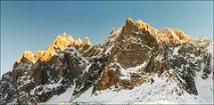 Time Passing (Katarina 2353) Tags: sunset mountain france alps film landscape nikon chamonix katarinastefanovic katarina2353