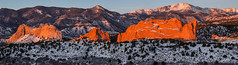 GoG panorama 2616_edited-1 (bruce.hausknecht) Tags: winter panorama snow sunrise gardenofthegods coloradosprings pikespeak