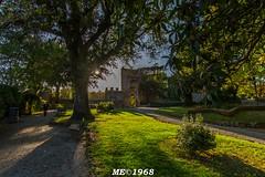 ORVIETO - Giardini interni della Fortezza (iw2ijz) Tags: italy sun verde green gardens italia mura sole umbria controluce giardini orvieto