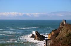 Villa Belza  Biarritz (escaledith) Tags: france 64 paysage vagues biarritz paysbasque aquitaine villabelza villetouristique