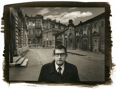Mikhail (1980) (Alexander Tkachev) Tags: portrait man alternativephotography digitalnegative altprocess palladiumprint berggercot320