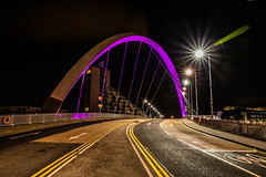 Glasgow (BusterBB001) Tags: street city longexposure bridge urban building tower castle tourism stone gardens architecture night dark landscape 50mm scotland riverclyde clyde town still memorial cityscape colours glasgow scottish railway battle forth commercial royalmile council keep historical townhall british colourful span cultural firth stirlingshire blackness burgh busterbrown squintybridge canon6d