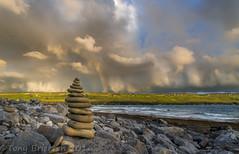 Stacked. (Tony Brierton) Tags: ocean camping ireland sea west coast rocks clare doolin shoreline atlantic co 31715