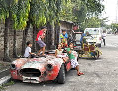 Shelby (Beegee49) Tags: car vintage shelby children playing bacolod city philippines 470 allfreepictures bestof2016