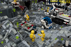 09_OSWION_Mining_Site (LegoMathijs) Tags: expedition layout wire mod energy power lego crystal space el vehicles astronauts modular planet scifi 20 functions mindstorms drill containers grapple spaceships miners moc nxt ores legomathijs oswion