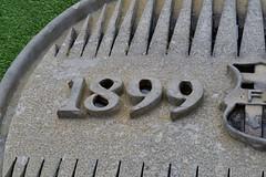 ESCUT DEL CENTENARI DEL FUTBOL CLUB BARCELONA (1899-1999) (Yeagov C) Tags: barcelona 1999 catalunya bara fcb escut 2016 1899 centenari 18991999 futbolclubbarcelona escutdelcentenari