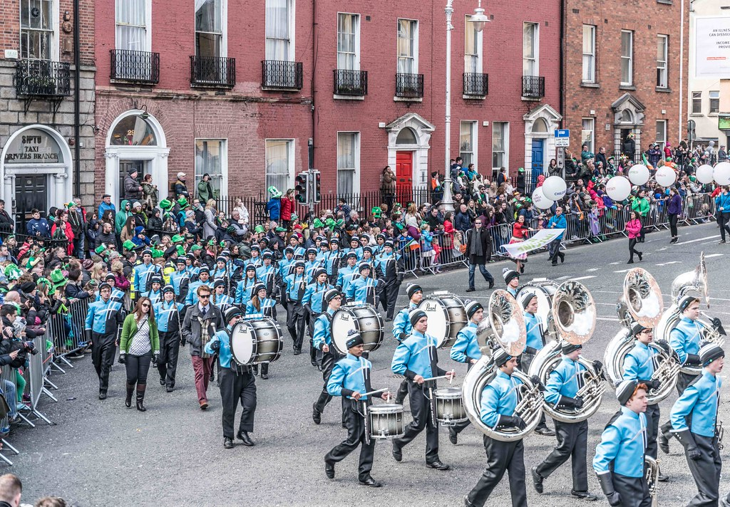 HAGERTY HIGH SCHOOL MARCHING HUSKIES [DUBLIN 2016 PATRICK'S DAY PARADE]-112557
