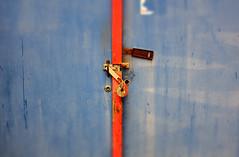 Security (eddi_monsoon) Tags: garage 52 latch garagedoor 52weeks fujix100s
