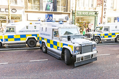 PSNI - Armoured Land Rover Pangolin - Tactical Support Group - Blue Lights (Agent Tyler Durden) Tags: police belfast policecar emergency landrover pangolin tsg armouredcar alr landroverdefender emergencyvehicle psni emergencyservice belfastcity armouredlandrover policeservicenorthernireland policelandrover psnilandrover landrovertangi tacticalsupportgroup landroverpangolin landroverpenman tacticalpolice