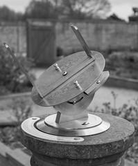 ELABORATE SUNDIAL, RUFFORD PARK, NOTTS_DSC_8032_LR.2.0 (Roger Perriss) Tags: park clock garden stainlesssteel steel sundial d750 rufford countrypark ruffordabbey