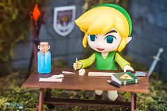 Link and the DIY (elZephon) Tags: cute japan miniature diy nintendo kawaii link otaku diorama doityourself legendofzelda toyphotography nendoroid figurephotography nendonesia elzephon nendomoe