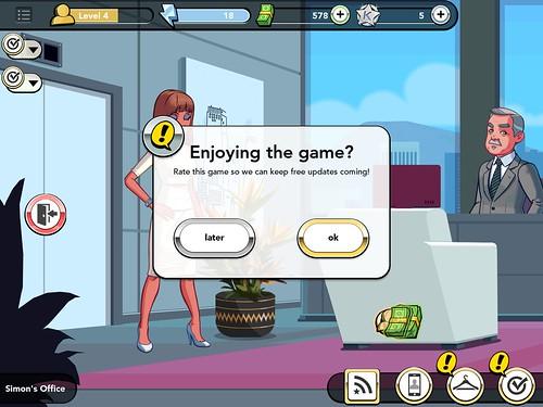 Kim Kardashian: Hollywood Rate Us: screenshots, UI