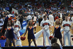 UVA DANCERS (SneakinDeacon) Tags: basketball cheerleaders providence tournament ncaa uva wahoos friars cavaliers bigeast hoos pncarena