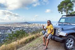 Pu'u 'Ualaka'a State Wayside (jennchanphotography) Tags: city travel vacation tourism nature private hawaii tour view waikiki oahu landmark spot lookout hike diamondhead honolulu iconic puuualakaa jennchanphotography