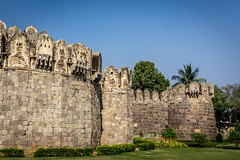 Golconda fort, Hyerabad, India (Raji PV) Tags: india stone king fort hyderabad golconda nizam raji philipose rajipv