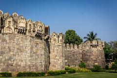 Golconda fort, Hyerabad, India (Raji PV) Tags: india stone king fort hyderabad golconda nizam raji philipose rajipv