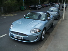 Blue Jag. (Bennydorm) Tags: auto blue cars car wow fun cool automobile convertible trendy vehicle jag british motor jaguar autos chic sporty exciting sportscar madeinengland softtop