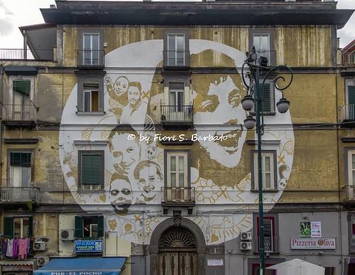Napoli (NA), 2016, Rione Sanità: piazza Sanità.