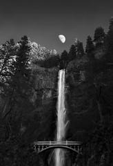 Multnomah (Austin Herr) Tags: portrait waterfall outdoor falls serene multnomah