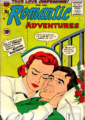 Romantic Adventures 66 (Michael Vance1) Tags: woman man art love comics artist marriage romance lovers dating comicbooks relationships cartoonist anthology silverage