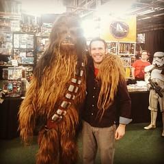 Awww man just met Bigfoot. I... (nathanrobinson2) Tags: beard starwars cosplay horror author chewbacca sasquatch hairychest hairyman digicon beardlove punchitchewie uploaded:by=flickstagram instagram:photo=894875639895819228184137303
