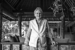 Professor Bob Thurman (Christopher.Michel) Tags: bali art robert museum rai thurman agung bobthurman geoex