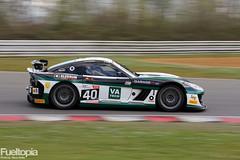 Ginetta G55 GT4 (40) (Sean Byrne/Aleksander Schjerpen) (tbtstt) Tags: cars car race 1 championship kent sean round british 40 hatch gt circuit g55 byrne brands gt4 aleksander ginetta schjerpen