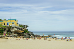Tamarama Beach, Sydney (tonyg1494) Tags: sky people water clouds sydney australia tamaramabeach d5300
