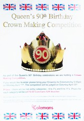 Colemans Oakham Queens 90th Birthday Crown Making Competition (@oakhamuk) Tags: crown rutland oakham makin colemans queens90thbirthday gcompetition