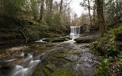 Nant Mill Waterfall (.willwalker) Tags: wales waterfall landmark nd nantmill