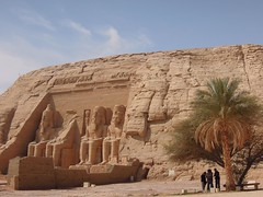 Egypt (Ebu Simbel) Great Ramses II Temple (ustung) Tags: architecture landscape temple ancient nikon outdoor egypt aswan ramses abusimbel