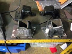 Tacked (john.and.kath) Tags: chevrolet conversion welding engine mount swap impala ls 1965 pedestal fabrication 60l l98 jrd ls2 l76