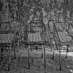 Babybettchen (naturalbornclimber) Tags: urban bw decay radiation nuclear ukraine hasselblad disaster medium format exploration bnw zone chernobyl exclusion urbex tschernobyl pripyat hasselblad503cx prypjat