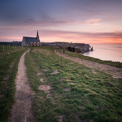 The Chapel (Vaidas M) Tags: france normandie fr tretat