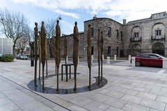 PROCLAMATION BY ROWAN GILLESPIE [ACROSS THE STREET FROM KILMAINHAM GAOL]-113742 (infomatique) Tags: sculpture irishhistory touristattraction proclamation easterrising rowangillespie williammurphy infomatique 1916rebellion zozimuz remember1916 kilmainhanmgaol