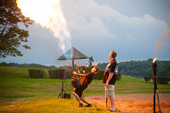 Playing with Fire (Harold Brown) Tags: ohio summer sky people usa clouds nikon outdoor malvern lakemohawk carrollcounty nikond90 haroldbrown bhagavideocom haroldbrowncom photosbhagavideocom harolddashbrowncom