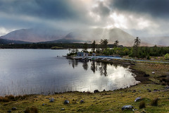 lough Inagh, Co galway (Sigita JP) Tags: mountain lake storm sunshine forest outdoors connemara daytime westofireland
