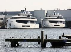 Capri. 1,2,3 ? (helicoatplanet) Tags: capri yacht feadship devriesaalsmeer devriesshipyard
