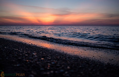 shoreline-1-3 (tamimabulhassan) Tags: sunset moon beach couple shoreline deathstar